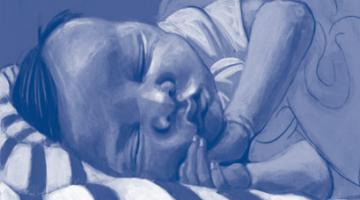 Image of Sleeping Infant