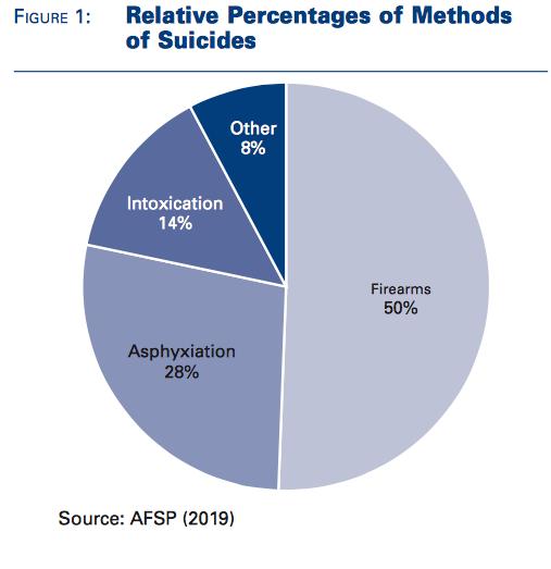Chart of Suicide Methods