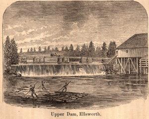 Upper Dam, Ellsworth