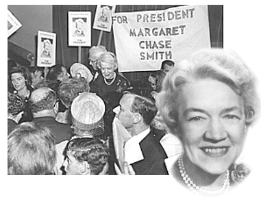 Margaret Chase Smith photo collage
