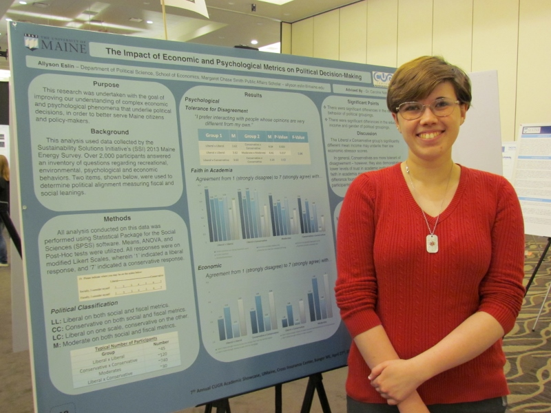featured image for Public Affairs Scholarship Students at Research Symposium