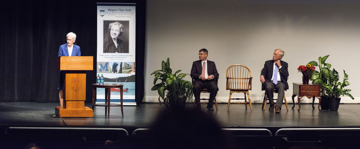 King lecture stage
