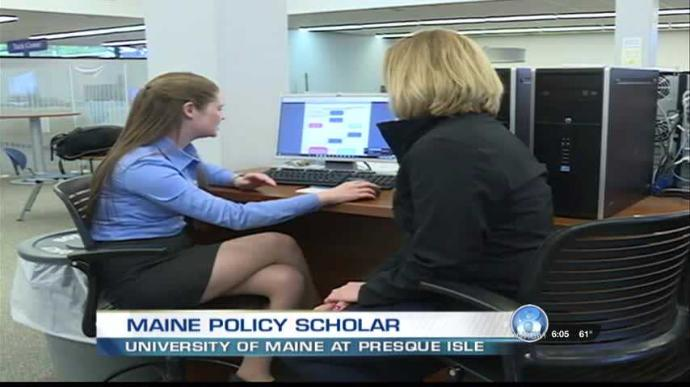 featured image for Maine Policy Scholar from UMPI in the news