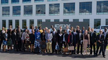 Mandela Washington Fellows at IDEXX photo