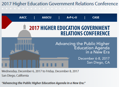 featured image for Prof. Trostel will present at 2017 Higher Education Government Relations Conference