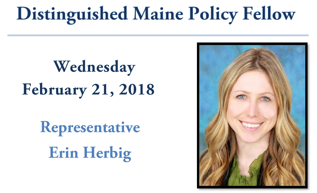 featured image for Rep. Erin Herbig will visit UMaine Feb. 21