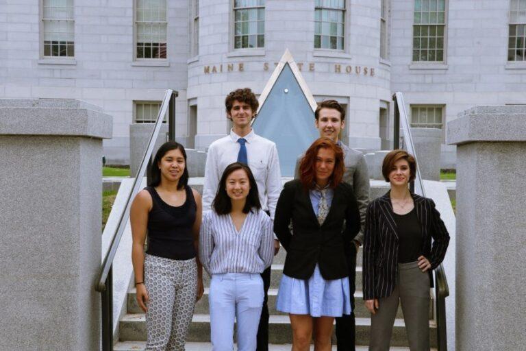 photo of DOE interns