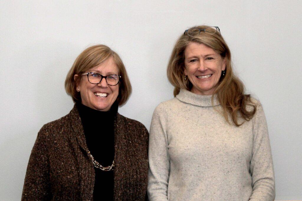 Dr. Joan Ferrini-Mundy and Dr. Jeanne Lambrew